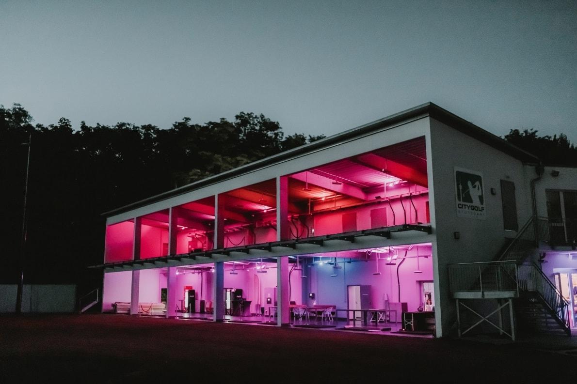 Eventlocation bei Nacht, Hochzeitslocation Stuttgart, Freie Trauung, Hochzeit