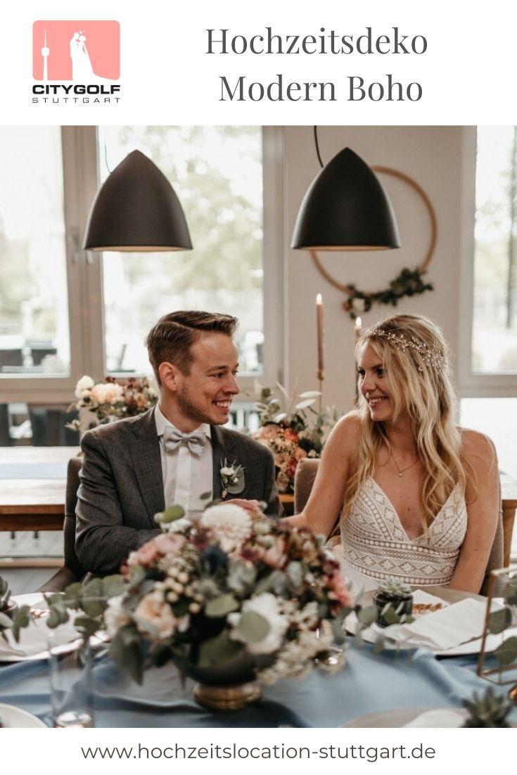 Modern Boho Hochzeit